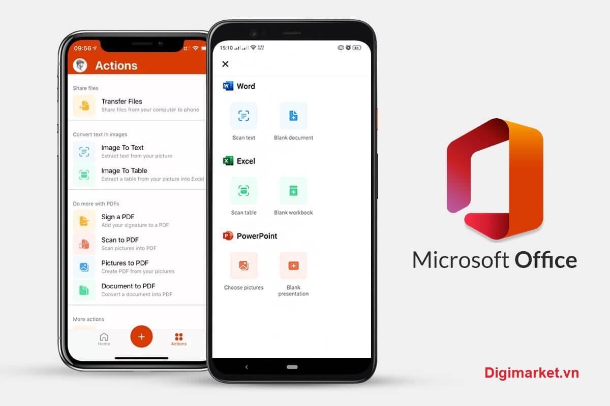 Office 365 trên ipad