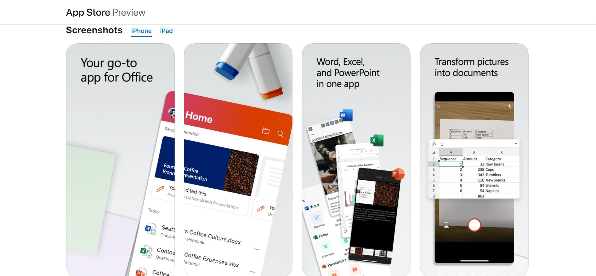Cài đặt Microsoft 365 trển iPad